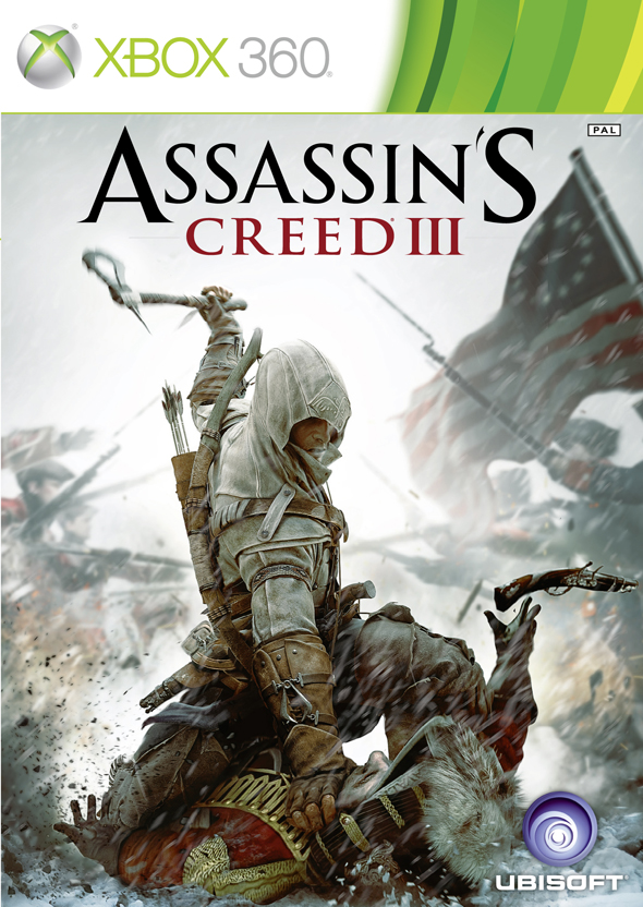 Assassin's Creed III Xbox 360 cover