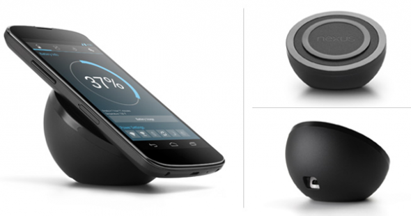Google Nexus 5 Wireless Charging mockup