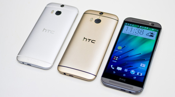 HTC One M8 2014 farver
