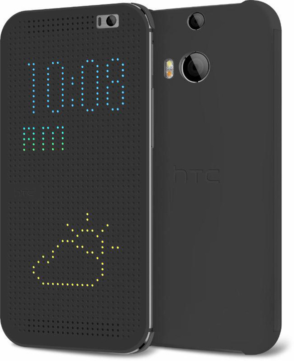 HTC One M8 2014 Dot View Case cover