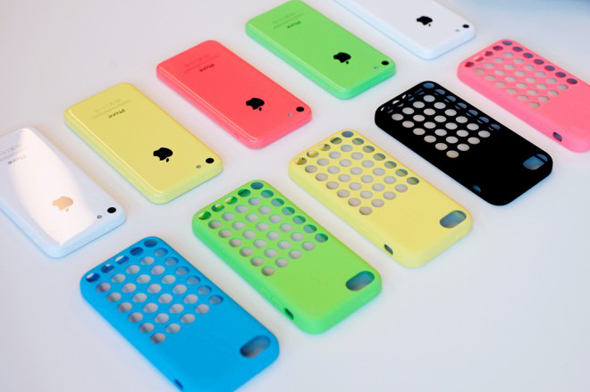 iPhone 5C farver og covers