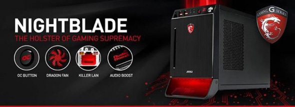 MSI Nightblade features banner