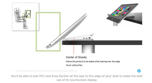 HP ENVY Recline