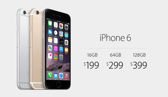 iPhone 6 priser i dollars