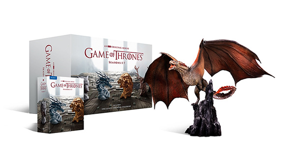 Game of Thrones - Sæson 1-7 Drogon Limited Edition