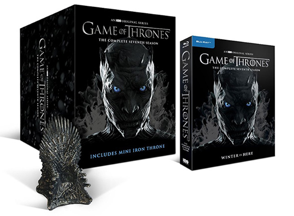Game of Thrones - Sæson 7 The Iron Throne Limited Edition