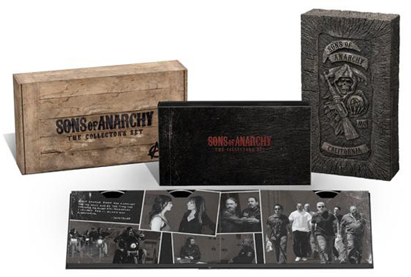Sons of Anarchy Woodbox The Collectors Set