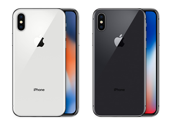 iPhone X farver