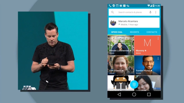 Android L - nyt interface