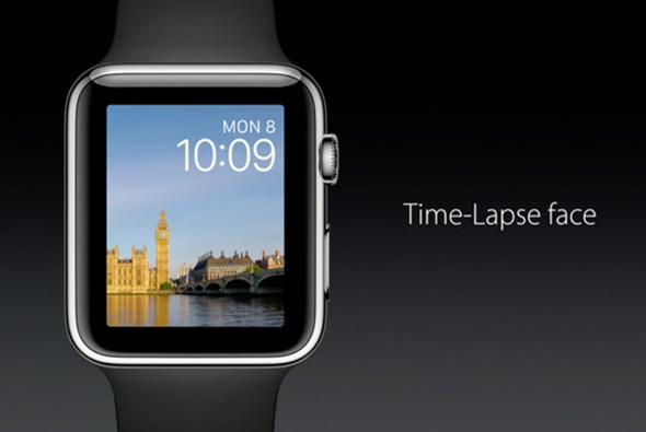 Apple Watch Time-Lapse Face