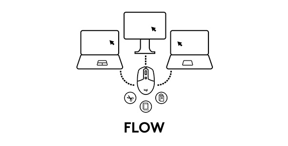 Logitech Flow diagram