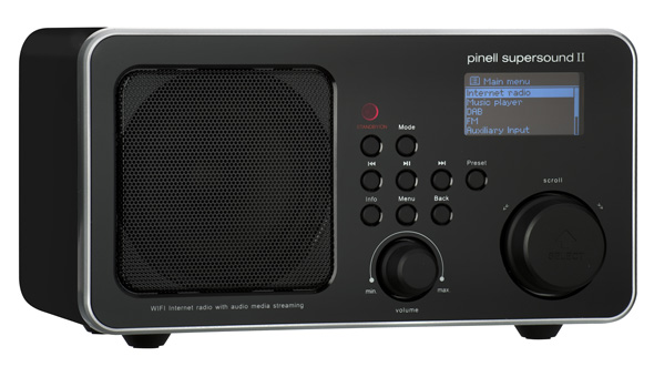 Pinell SuperSound II+ sort