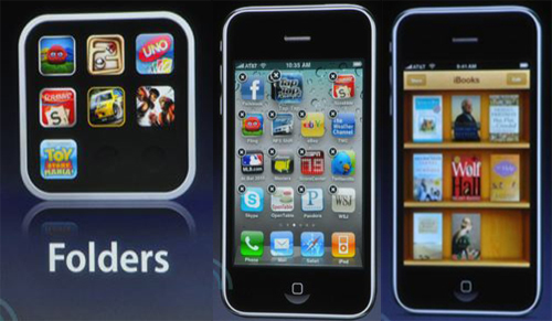 iPhone OS 4.0 nyheder