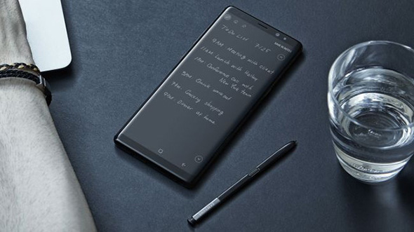 Samsung Galaxy Note8 med S-Pen