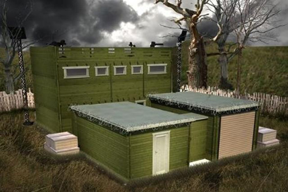 ZFC-1 Zombie Fortification Cabin