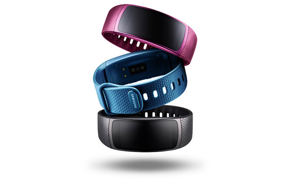 Samsung Gear Fit2 farver