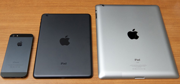 Apple iPhone 5s, iPad mini 2 og iPad 2013