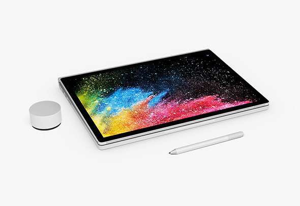 Microsoft Surface Book 2 i tablet mode