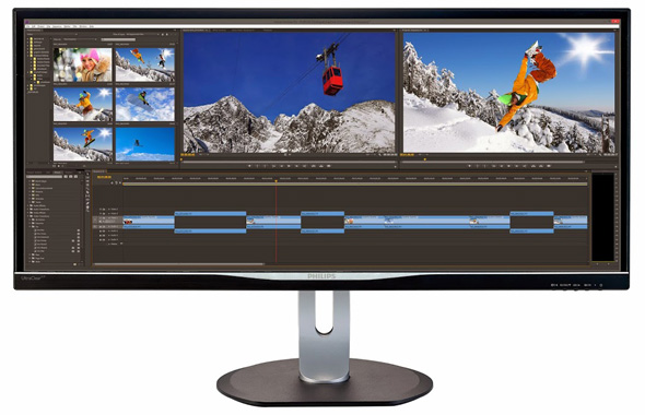 Philips BDM3470UP 21:9 Panoramic Ultra Wide monitor