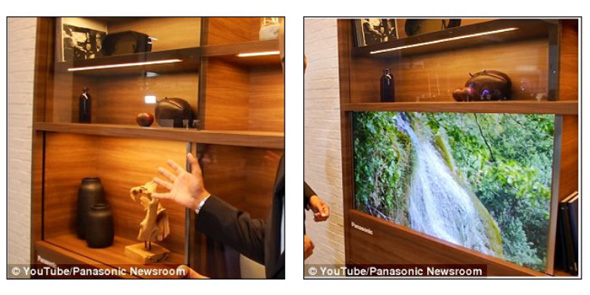 Panasonics usynlige TV