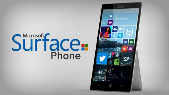 Microsoft Surface Phone koncept
