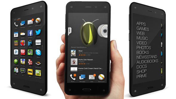 Amazon Fire Phone med Firefly