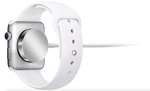 Apple Watch MagSafe-opladning
