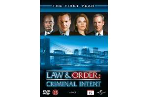 Law Order: Criminal Intent - Season 1 (rwk 2011) (6 disc) (Nor Lyd & Billede