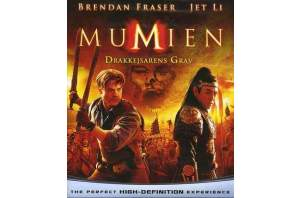 The Mummy 3: Tomb of the Dragon Emperor (Blu-Ray) Lyd & Billede